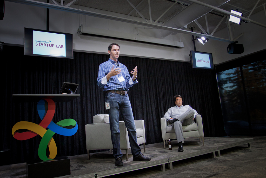 As one of the principals behind GV's Startup Labs, Rick Klau held workshops for the firm's portfolio startups, including sharing how Google sets goals.
