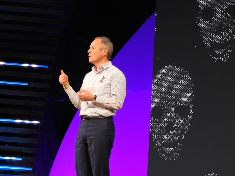 Yves Guillemot, CEO of Ubisoft, gave a heartfelt talk at the close of his press event about the need to take risks.