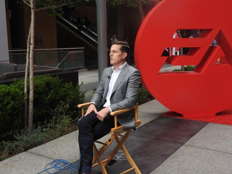 Andrew Wilson, CEO of EA