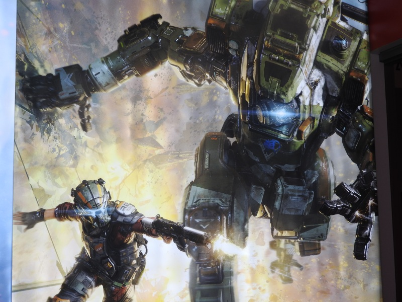 Titanfall 2 is a sci-fi epic.