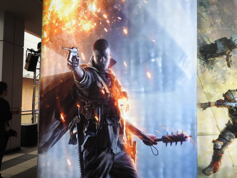Battlefield 1 poster at EA Play