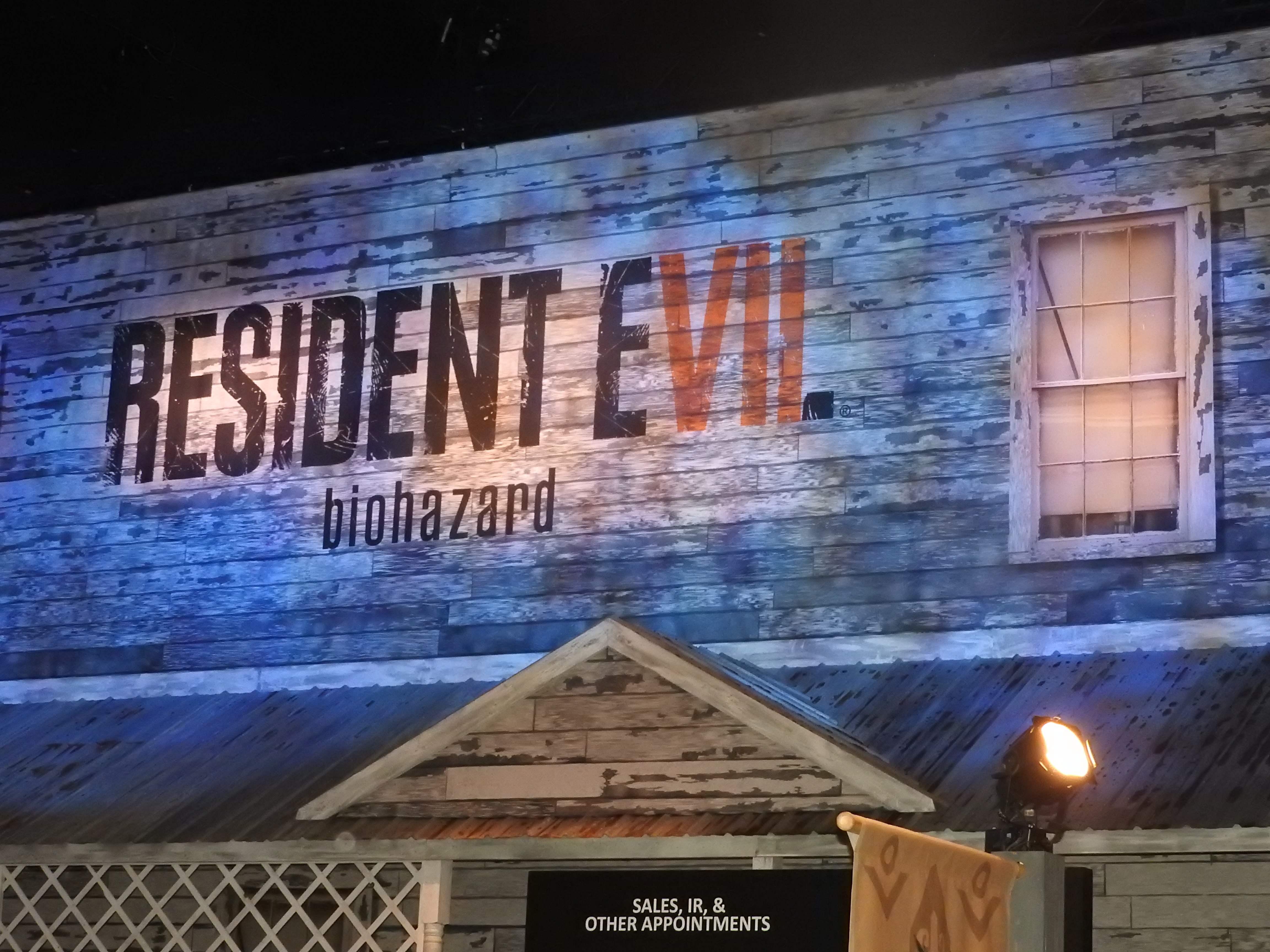 Capcom had Resident Evil Biohazard in VR.