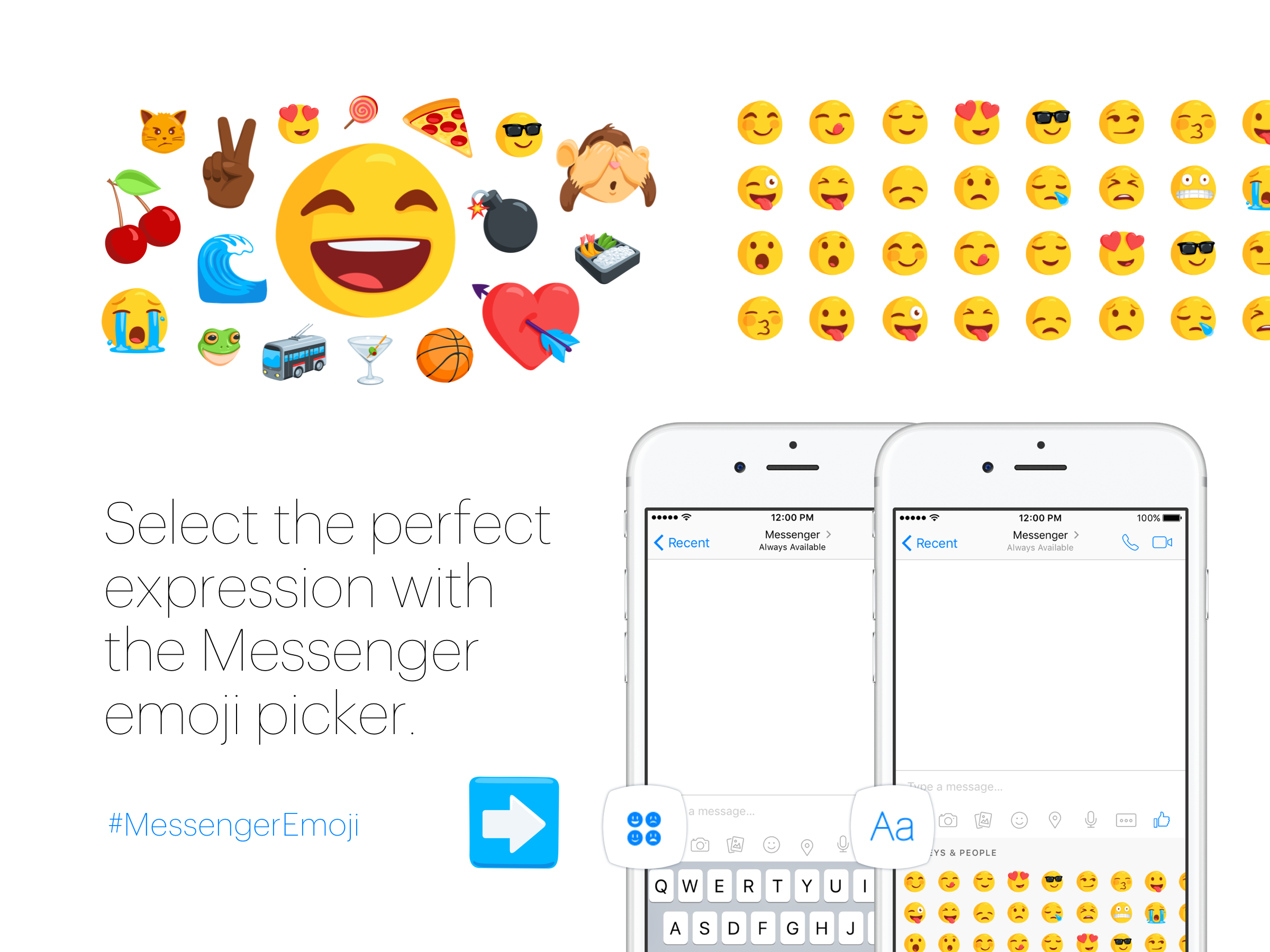 Facebook Messenger Emoji Keyboard