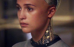 """This image shows Ava from the movie """"Ex Machina"""""""