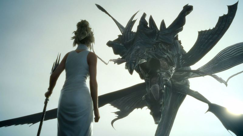 Final Fantasy XV: Luna encounter