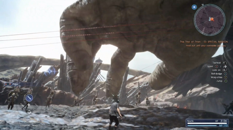 Final Fantasy XV E3 2016 01