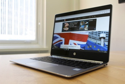HP EliteBook Folio G1 review: $300 less than a MacBook, but there