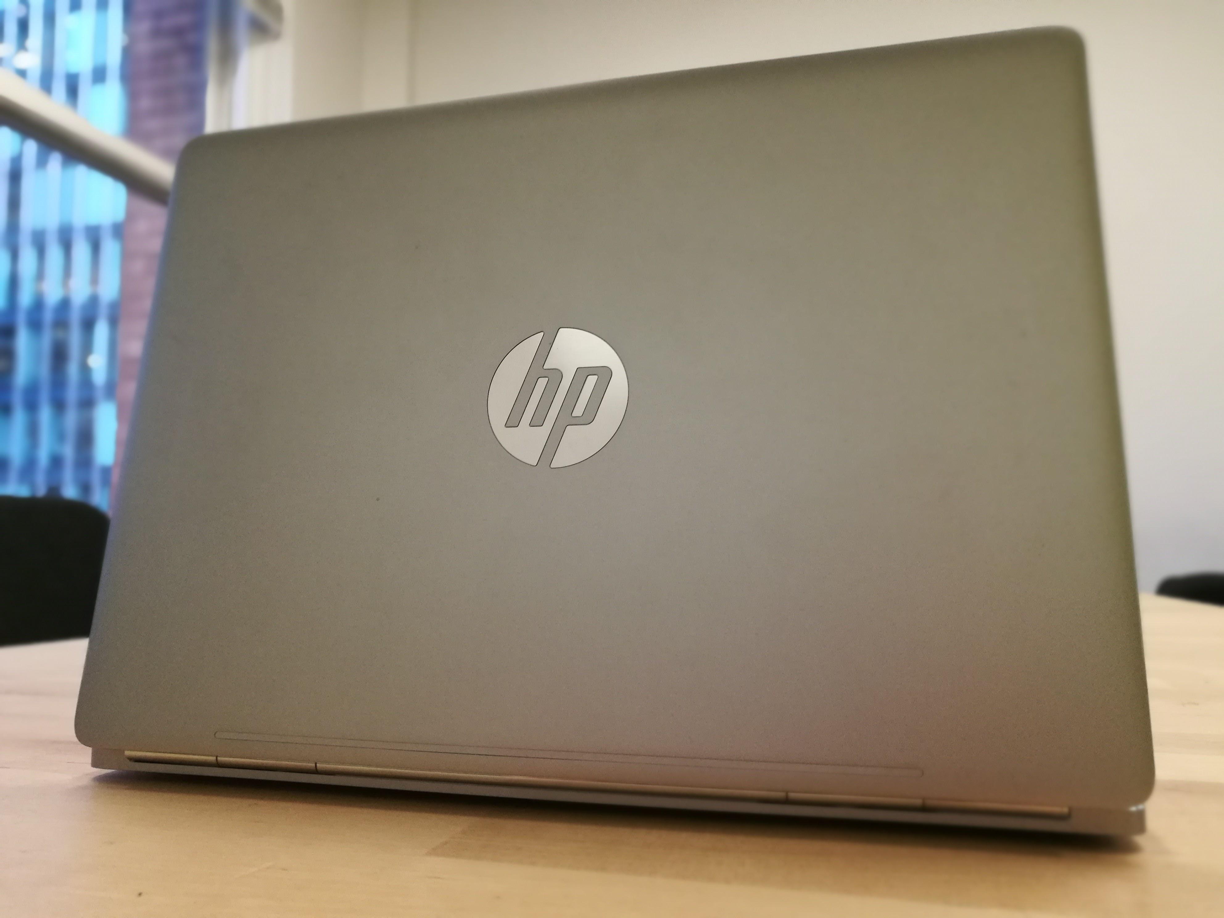 The back of HP's EliteBook Folio G1.
