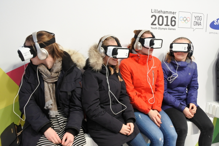VR Streaming at Lillehammer