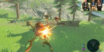 The Legend of Zelda: Breath of the Wild has Link cooking, wielding an axe, and more