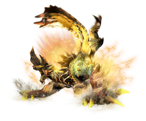 The Thunderlord Zinogre, one of Generation's new deviant monsters.