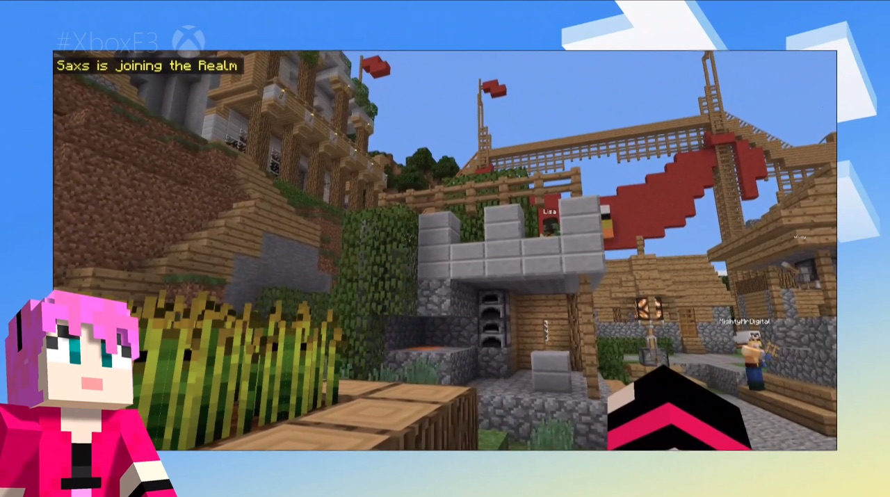 Minecraft gets Xbox Live: Console, PC, and mobile can play together