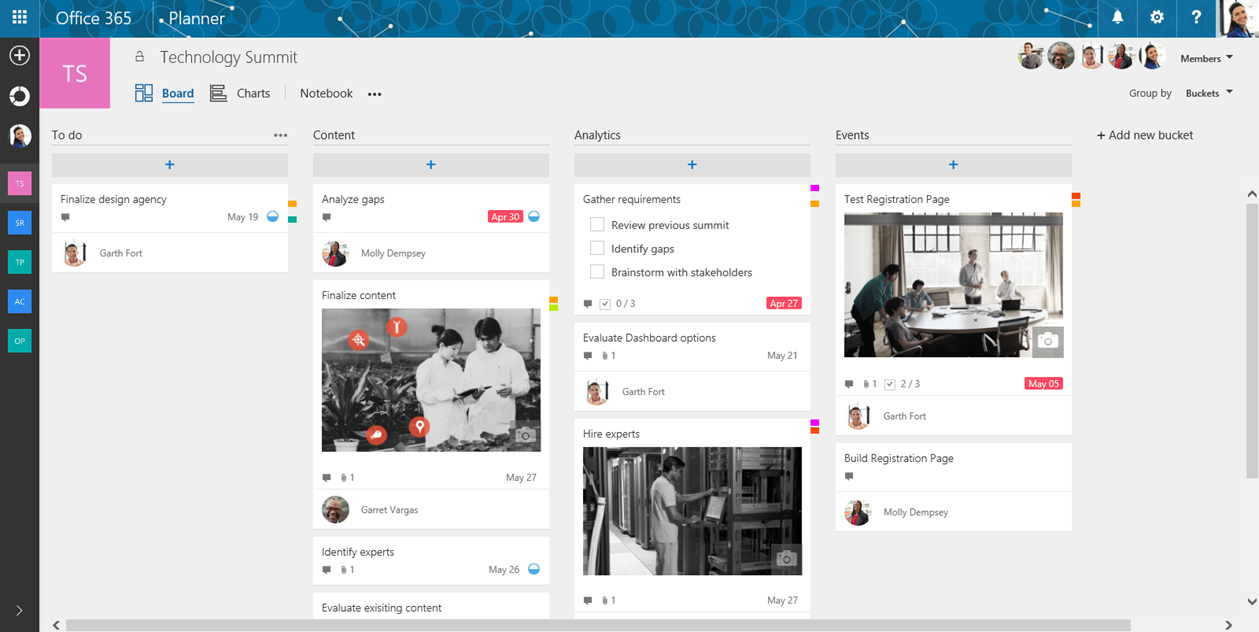 Microsoft launches Planner, a project-management tool part