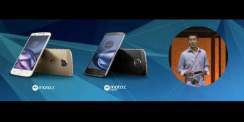 Motorola unveils Moto Z flagship handsets with modular MotoMod backplates