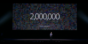 Apple's App Store passes 2M apps, 130B downloads, and soon $50B paid to developers
