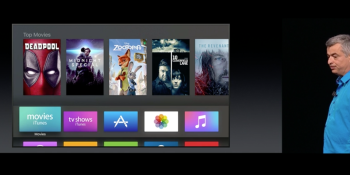 Apple is updating Apple TV with Siri improvements, single sign-on, and a dark mode