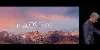 So long, OS X: Apple unveils MacOS Sierra