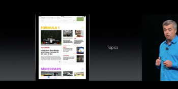 Apple's News app is getting subscriptions and a redesign in iOS 10