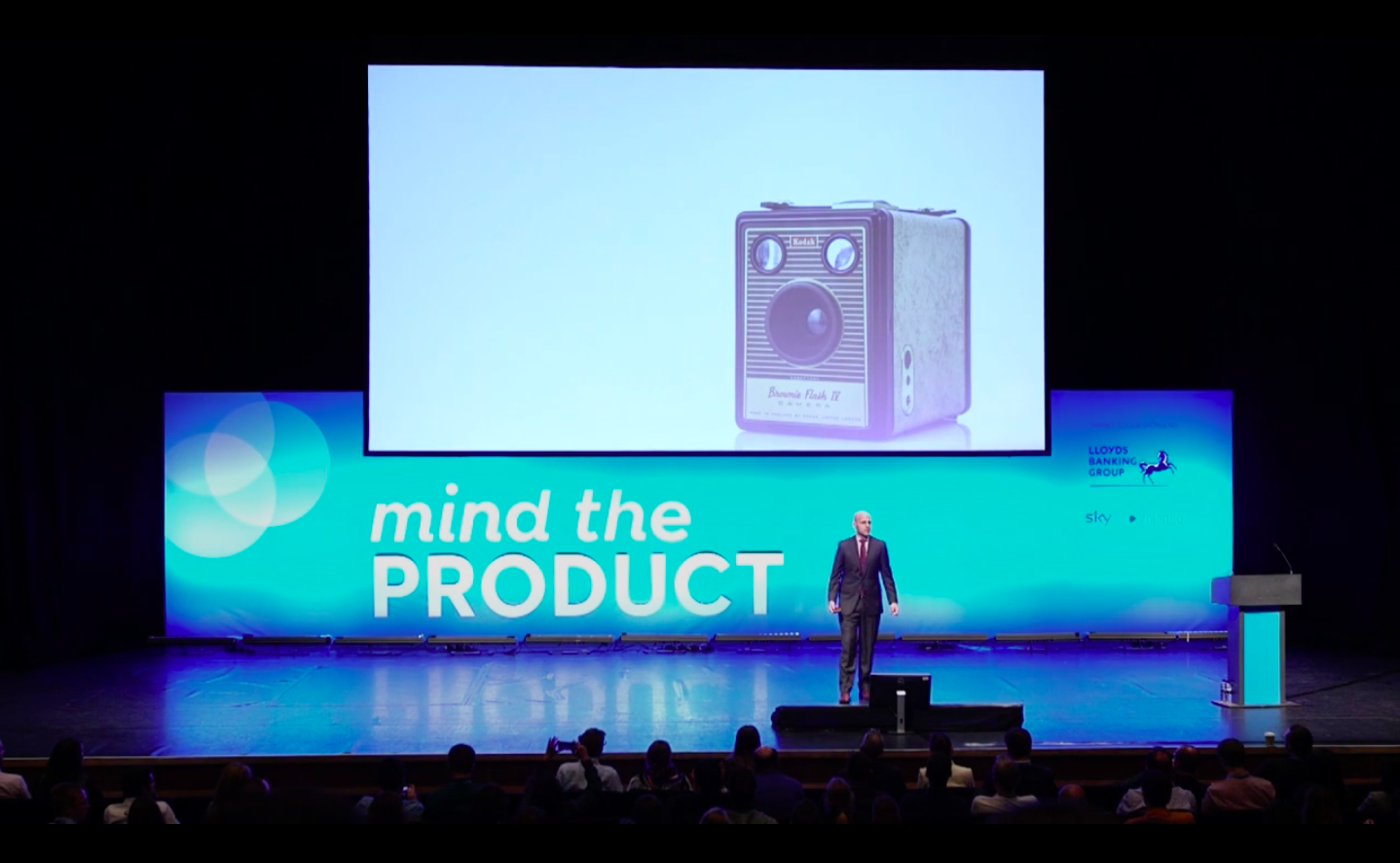 Ken Norton speaks at Mind the Product conference 2016
