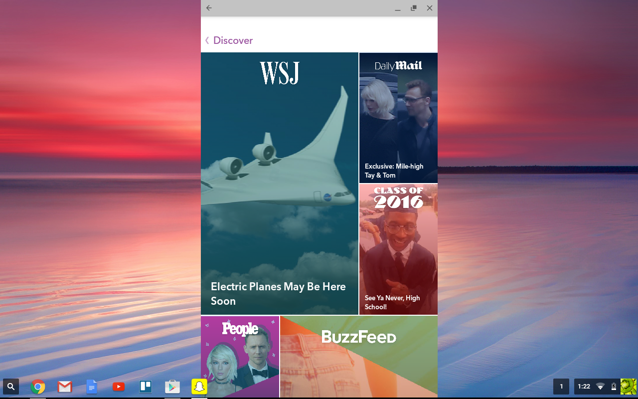 Snapchat is hereby now on desktop, thanks to the Play Store coming to Chromebook.