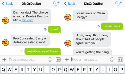 This image shows a screenshot of DisorDatBot