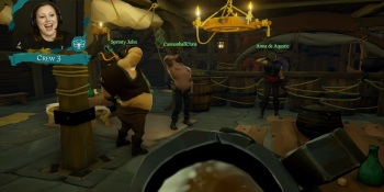 Microsoft's Sea of Thieves shows how you use cannons to board ships