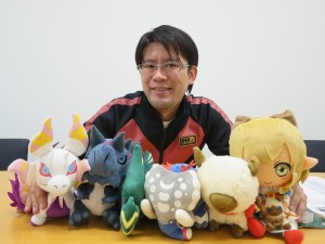 Shintaro Kojima, producer on Monster Hunter Generations.