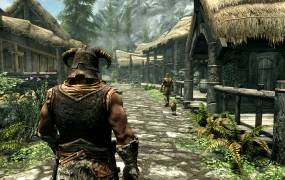 Skyrim Special Edition E3 2016 - Riverwood