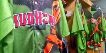 Minor League Baseball's Toledo Mud Hens are wearing Zelda-inspired jerseys tonight