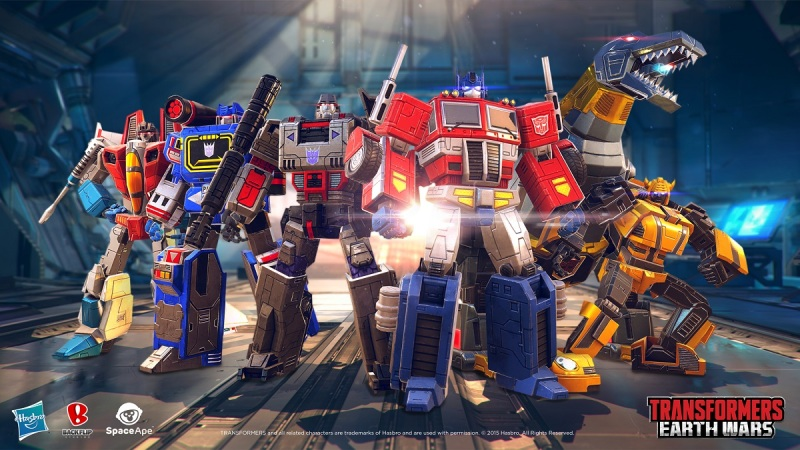 Of course Optimus Prime gets to stand in front of Megatron. He's a Prime!
