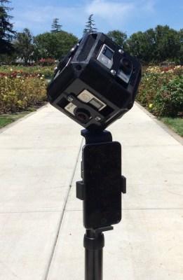 Universal 360 Camera Mount - close-up