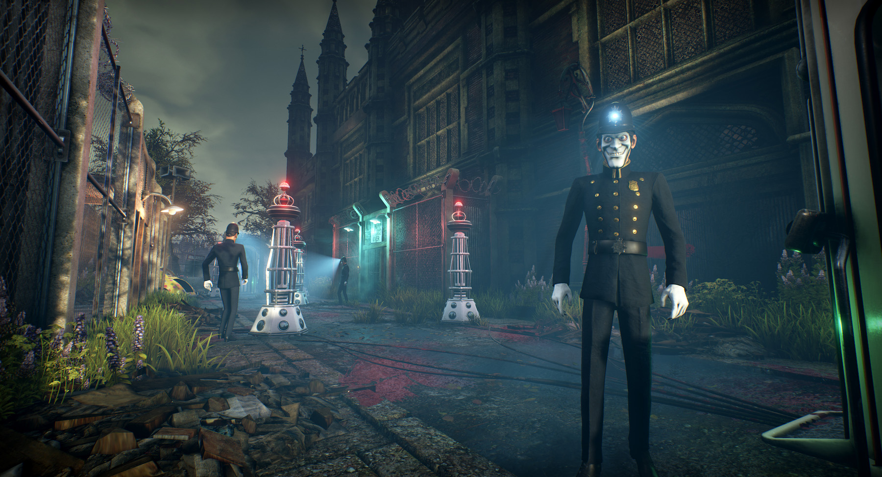 We Happy Few: Bobbies at the checkpoint