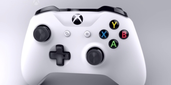 The Xbox One S Bluetooth controller doesn't work with Steam Link, yet