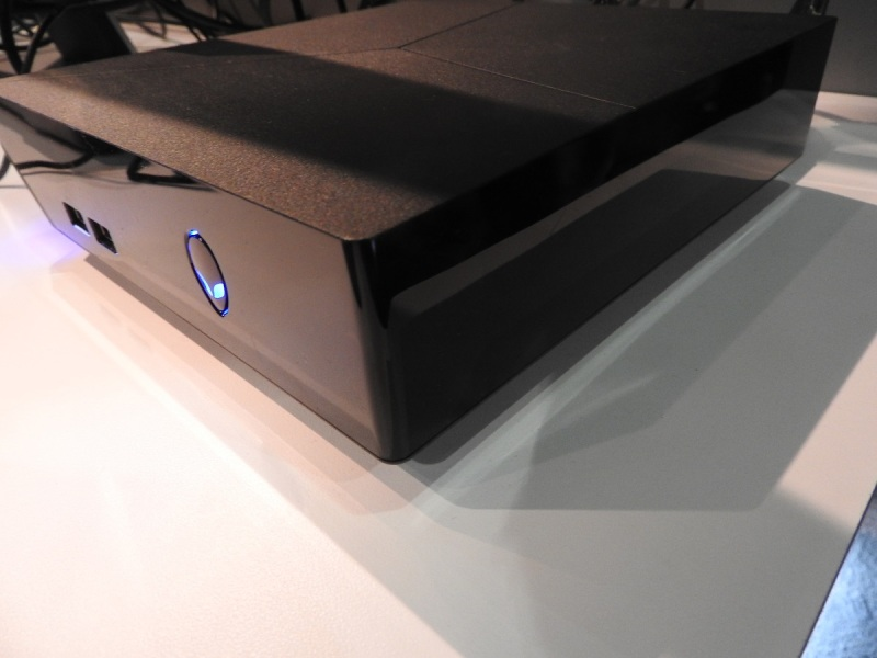 Alienware's console-like PC for the living room.
