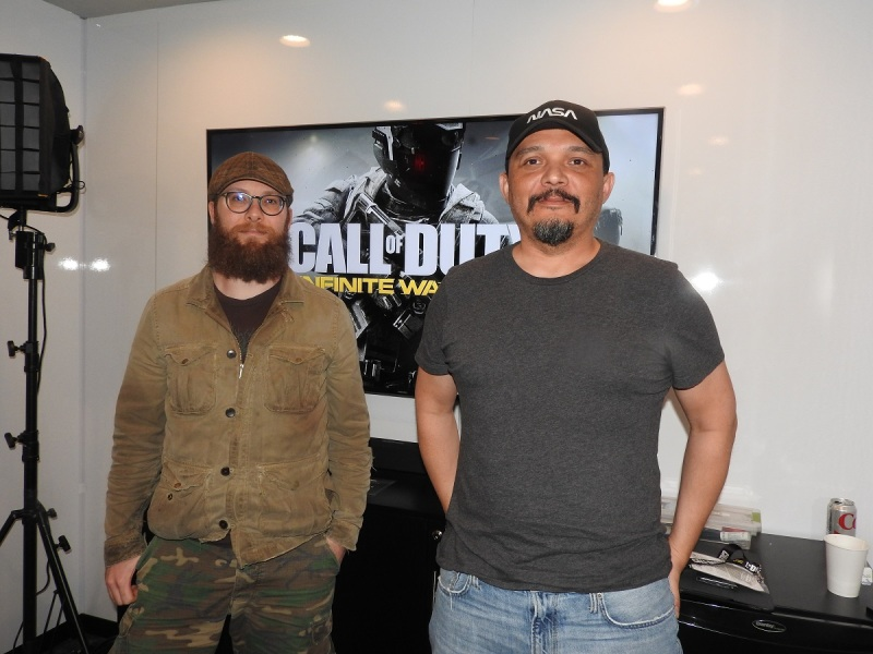 Jacob Minkoff and Chad Finley of Infinity Ward.