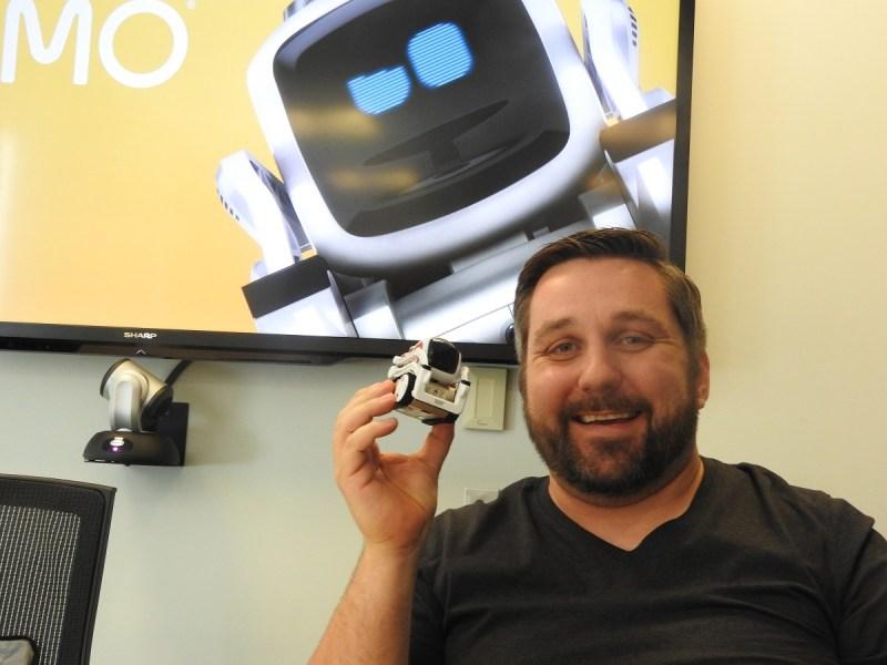 Cozmo co-creator Hanns Tappeiner, cofounder of Anki.