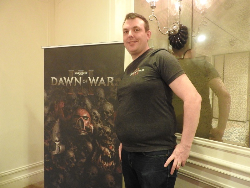 Philippe Boulle, game director of Warhammer 40000: Dawn of War III