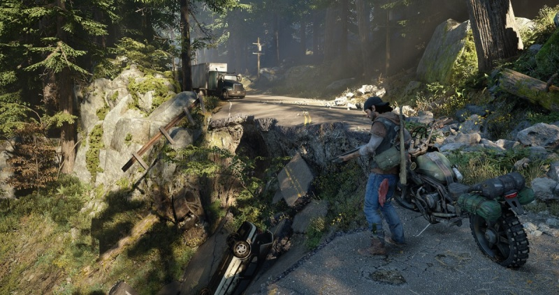 Days Gone has some intense action.