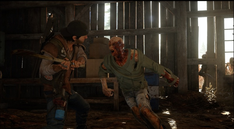 Days Gone has some intense combat with the Freakes.