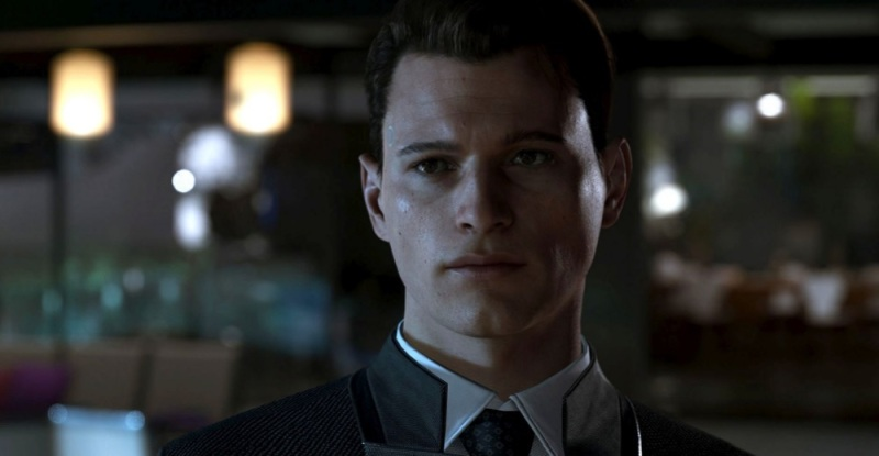 Connor is an android character, played by Bryan Dechart, in Detroit: Become Human.