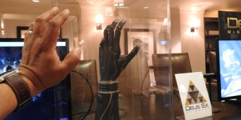Open Bionics created a real bionic arm from the hero of Deus Ex: Mankind Divided.