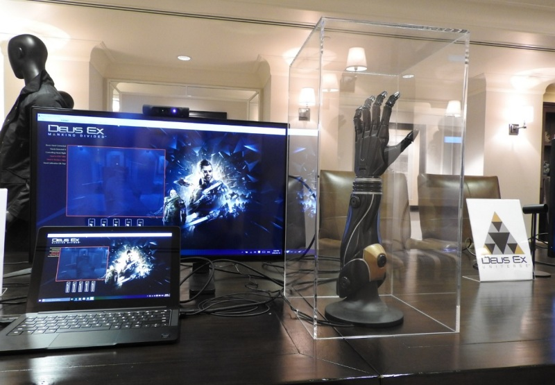 Open Bionics made this prosthetic arm based on Adam Jensen in Deus Ex: Mankind Divided