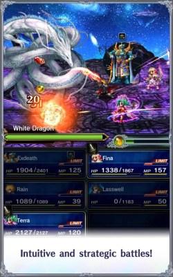 Final Fantasy: Brave Exvius.