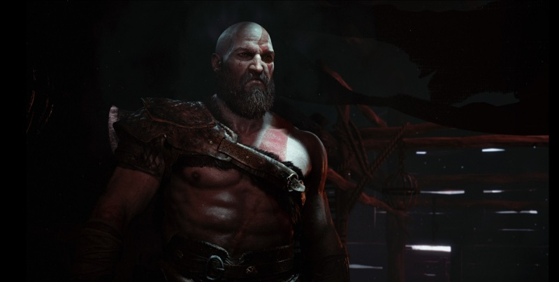 The fans went crazy when Kratos stepped into the light in God of War.