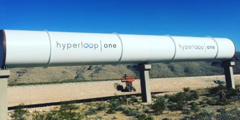 Hyperloop One completes test track for near-supersonic ground transportation system