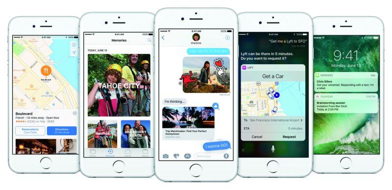 iPhone iOS10