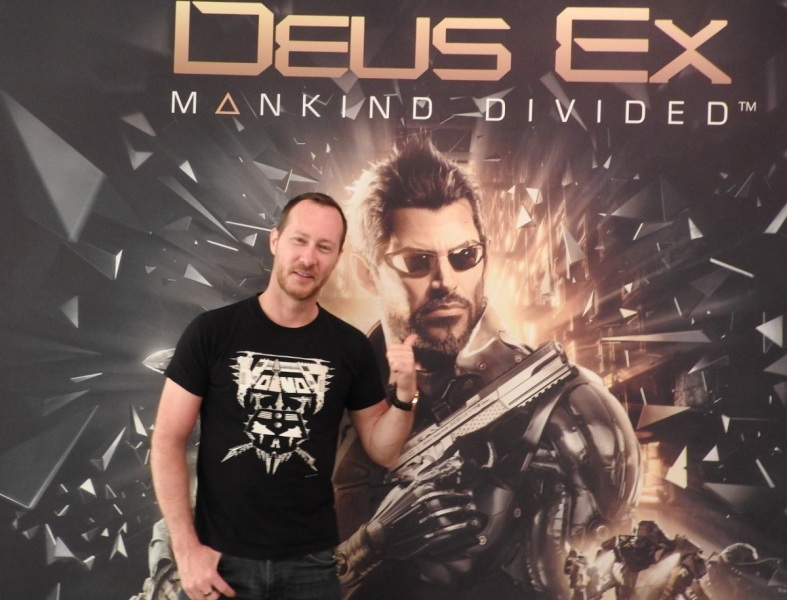 Jean-Francois Dugas of Square Enix's Eidos Montreal.