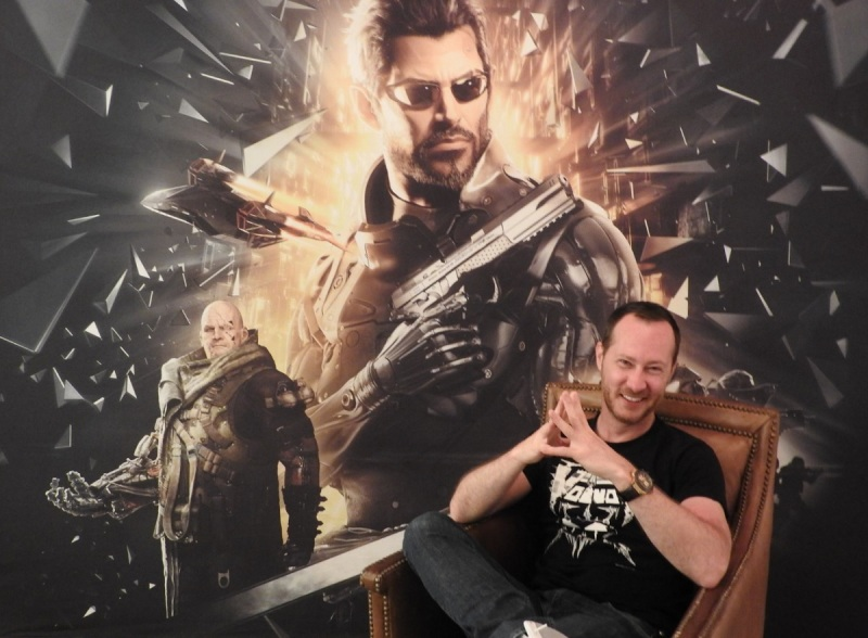 Jean-Francois Dugas, executive game director at Eidos Montreal for Deus Ex: Mankind Divided.