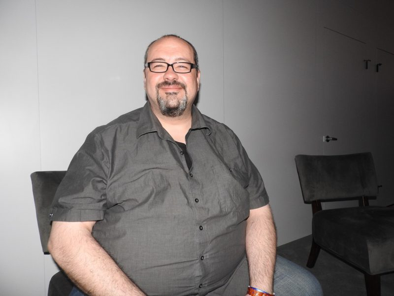 John Gonzalez, lead writer at Guerrilla Games, creator of Horizon: Zero Dawn.
