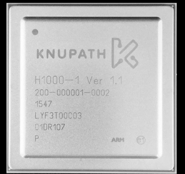 KnuEdge's KnuPath chip.